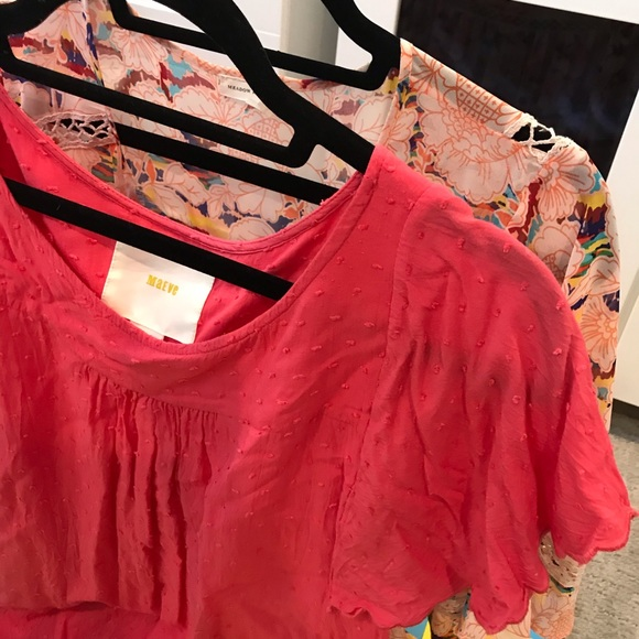 Anthropologie Tops - SALE Anthropologie Collections Set of 2 Blouses